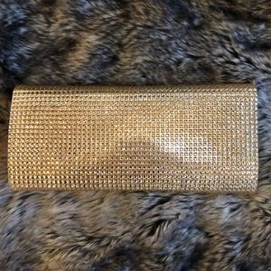 Call It Spring Bags - Gold Sparkly Clutch 👑✨